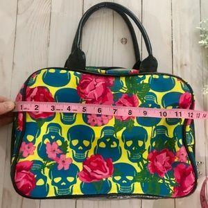 Betsey Johnson Bags - Betsey Johnson Sugar Skull Floral Purse